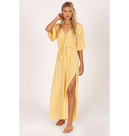 Lemongrass Woven Maxi Dress