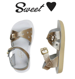 Saltwater Salt Water Sandals, Sweetheart Child