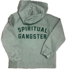 Spiritual Gangster Spiritual Gangster, Hooded Military Jacket