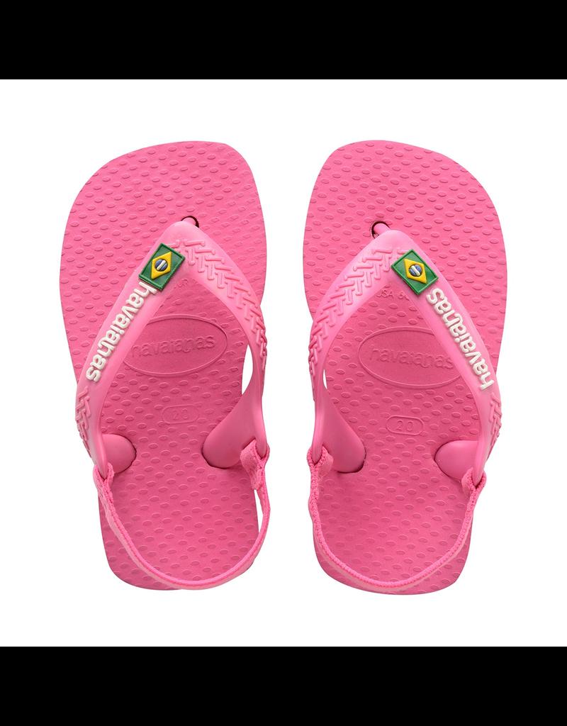Havaianas Baby/Toddler Brazil Logo Sandal Flip Flop