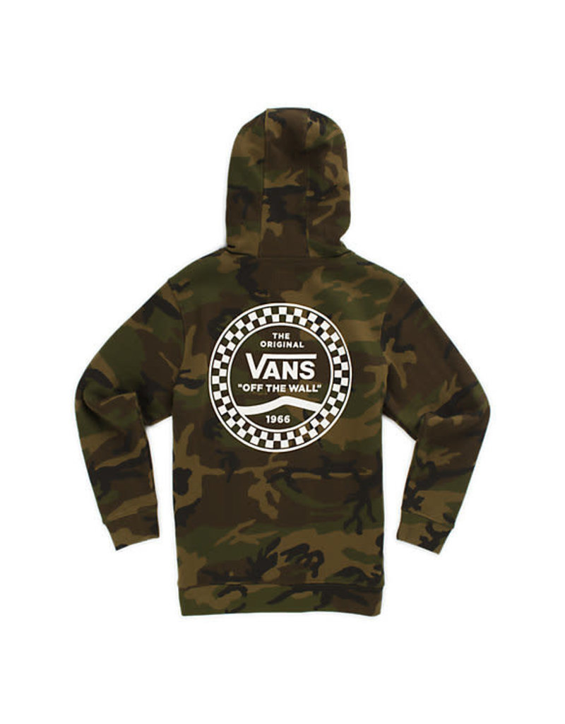 Vans Boys Checkered Side Stripe Pullover Hoodie