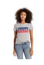 Levis Womens Perfect Tee Sportswear logo 17369-0297