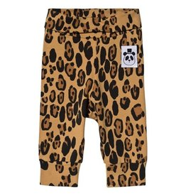 MiniRodini Mini Rodini, Basic Leopard Newborn Leggins