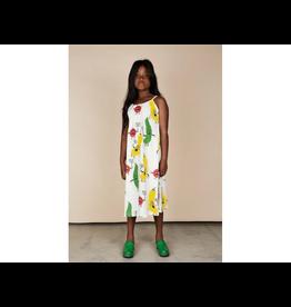 MiniRodini Mini Rodini, Veggie, Aop Strap Dress