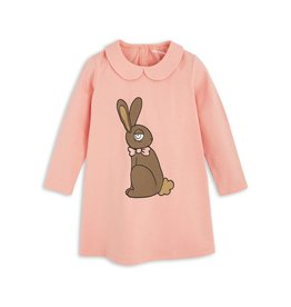 MiniRodini MiniRodini, Long Sleeve Rabbit Dress