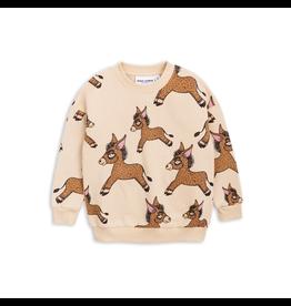 MiniRodini Mini Rodini, Donkey Aop Sweatshirt