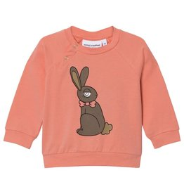 MiniRodini MiniRodini, Long Sleeve Rabbit Cuff Shirt