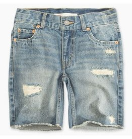 Levis Levis Kids, Child 511 Destroyed Cut Off Short