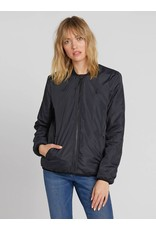VOLCOM Womens Reversible Polar Jacket