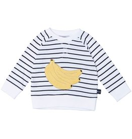 HuxBaby Banana Stripe Sweatshirt