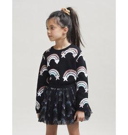 HuxBaby Rainbow Tulle Skirt