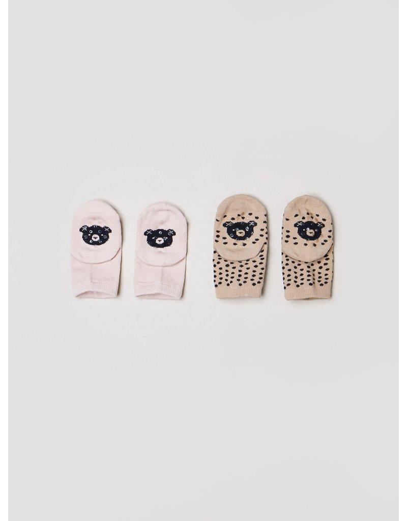 HuxBaby Freckle Sock 2pk
