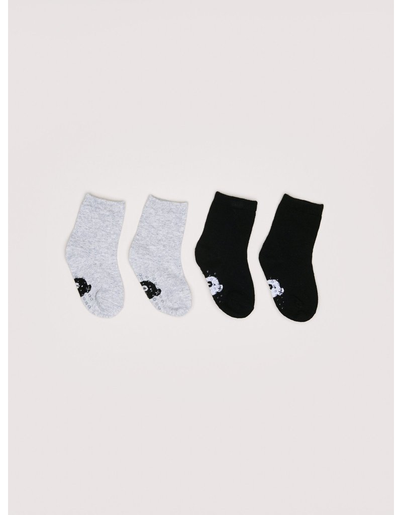 HuxBaby Simple Sock 2pk