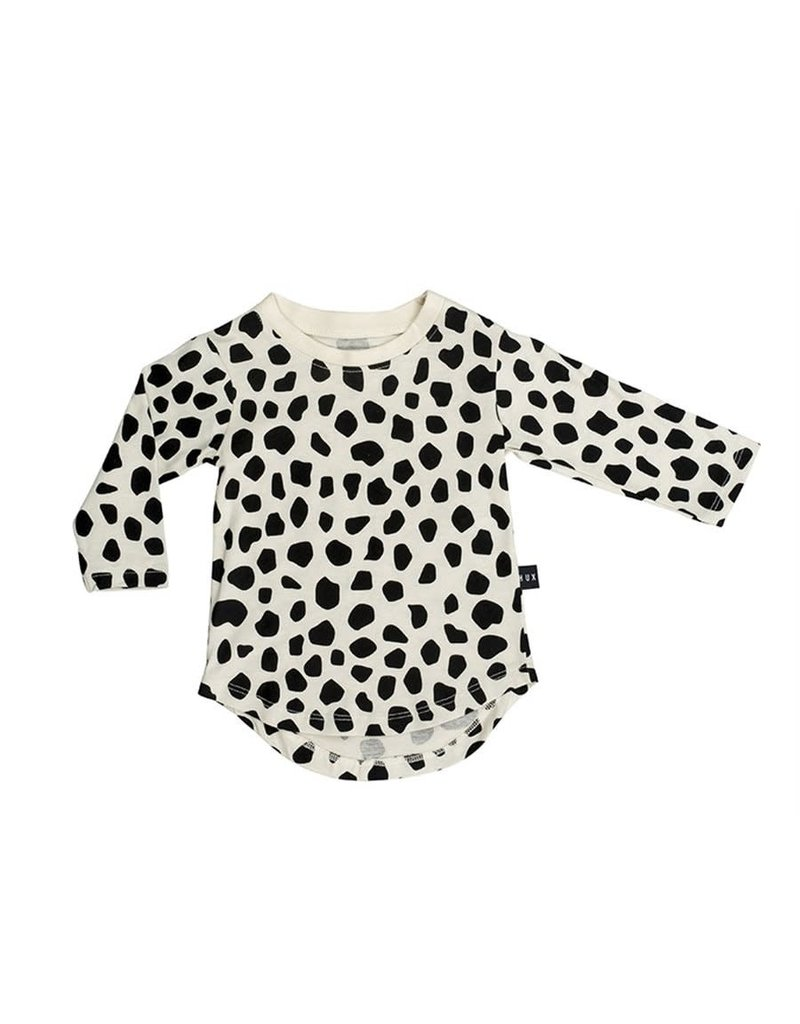 HuxBaby Huxbaby, Leopard Long Sleeve Top