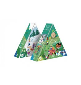 londji Lets Go To The Mountains Double sided Puzzle