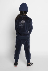 Munster Kids Clouds Velour Zip Jacket