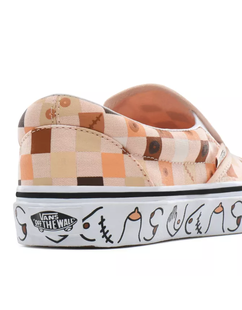 Vans Breast Cancer Awareness Classic Slip-On Shoes