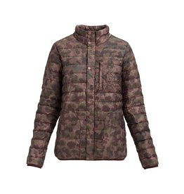 Burton, Women's Evergreen Long Down Hooded Jacket