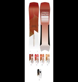 CAPITA Spring Break Powder Snowboard Red 158