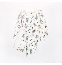 Petit Lem Kids Pine Cone Pyjama Set