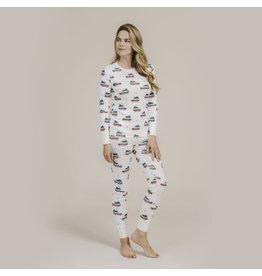 Petit Lem Womens Holiday Pyjama Set