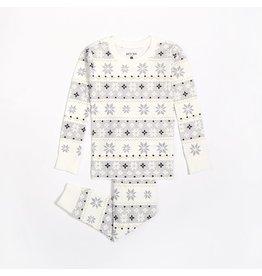 Petit Lem Kids Snowflake Pyjama Set