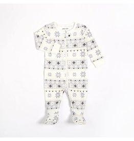 Petit Lem Baby Snowflake Sleeper