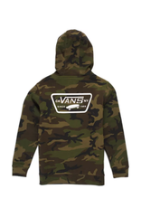 Vans Boys Full Patched Pullover Hoodie