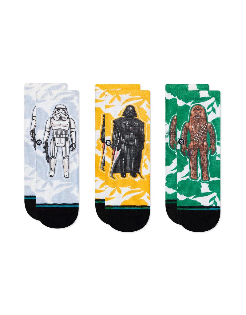 Stance Toddler 3pk Space Floral Socks