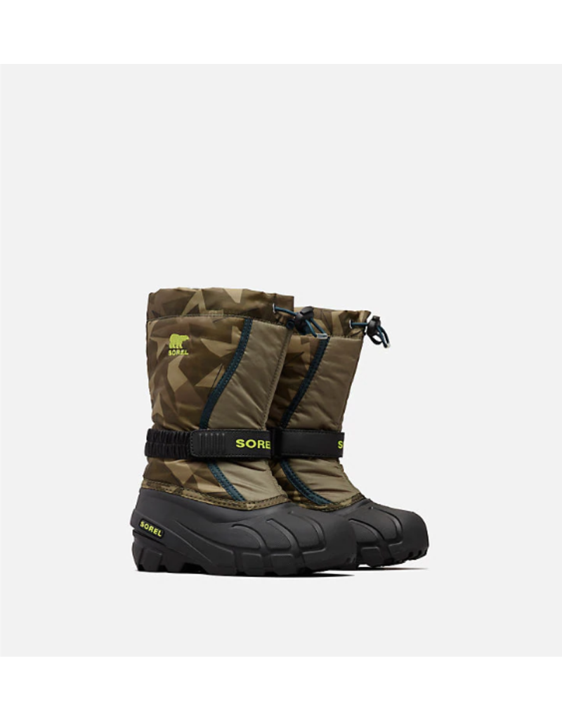 SOREL Youth Flurry Print Boot
