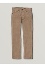 VOLCOM Big Boys Vorta 5 Pocket Cord Slim Fit Jeans