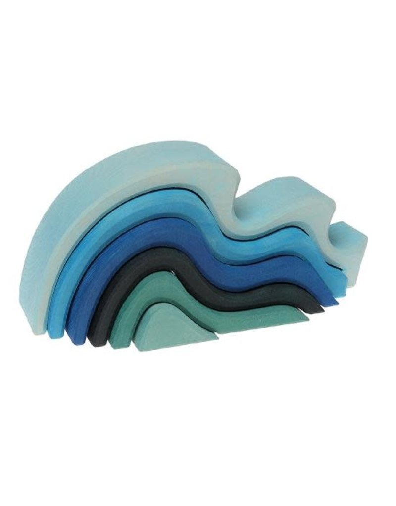 Grimm's Wooden 6pc Water Waves