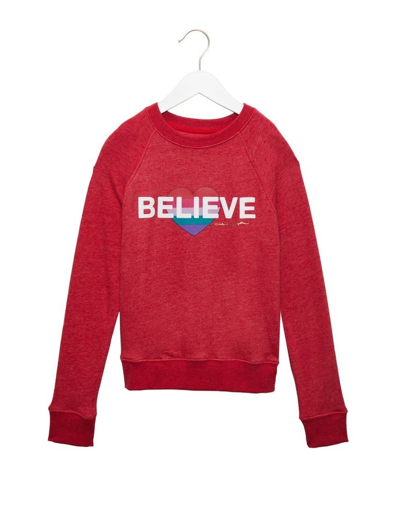 Spiritual Gangster Girls Believe Sweatshirt