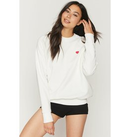 Spiritual Gangster Love Yourself Classic Crew Sweatshirt