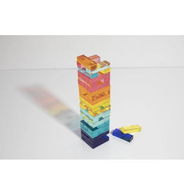 Sunny Life Lucite Jumbling Tower Game