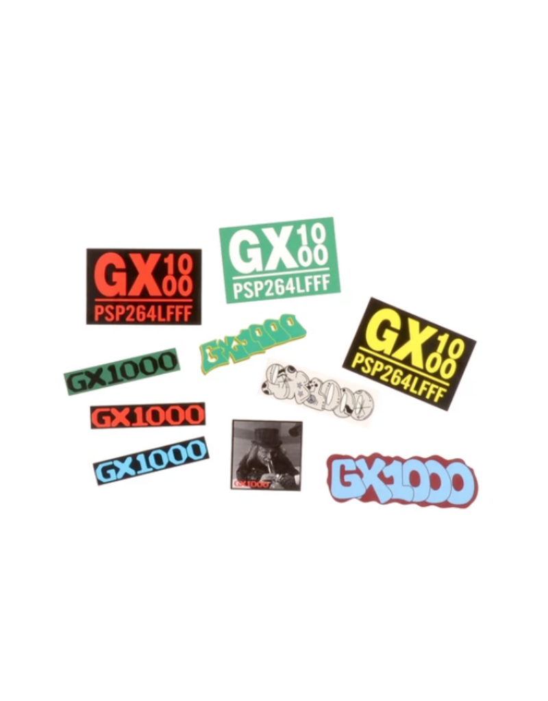 GX1000 G-Pack Stickers