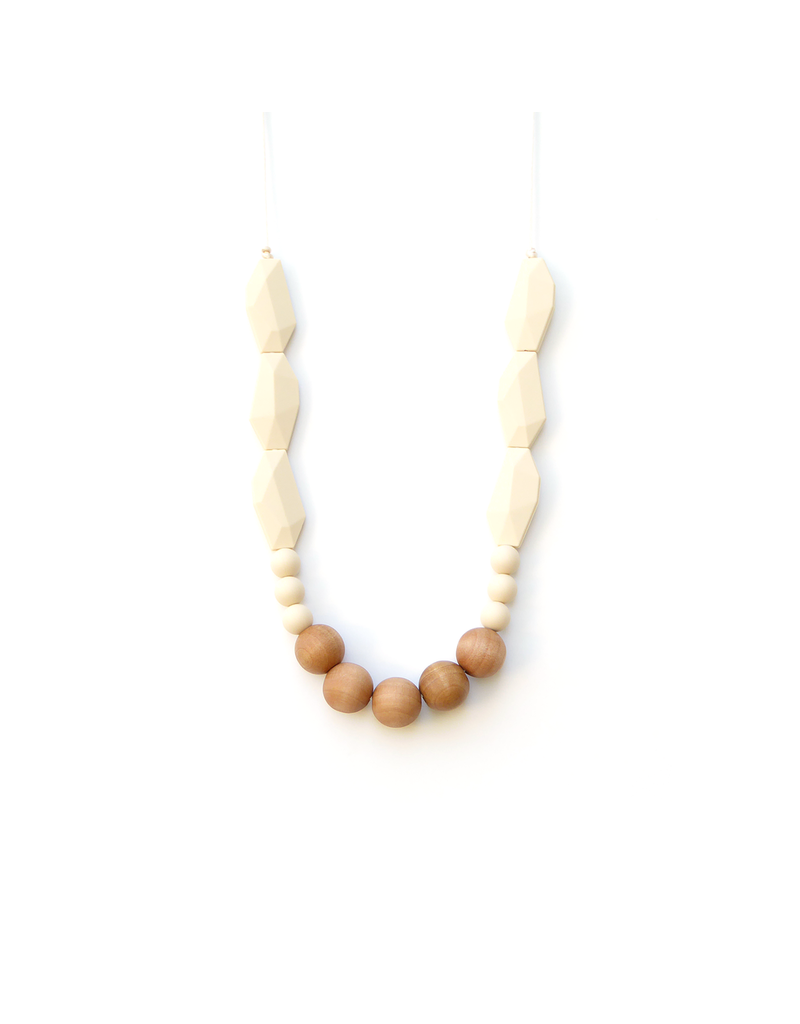 Louloulollipop Joan Silicone & Wood Teething Necklace