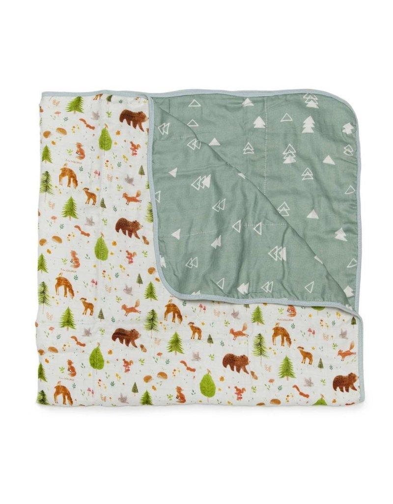Louloulollipop Muslin Quilt Blanket