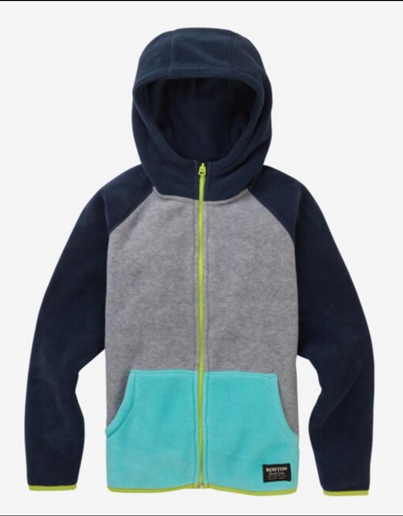 BURTON Kids Spark Full Zip Fleece Hoodie