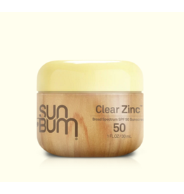 sunbum Original SPF 50 Clear Zinc Face Cream