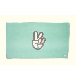 sunbum Peace Sign Beach Towel