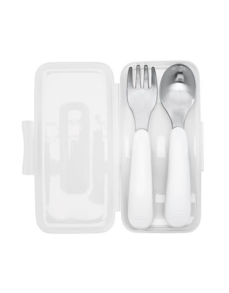 OXO On the Go Fork & Spoon in Travel Case