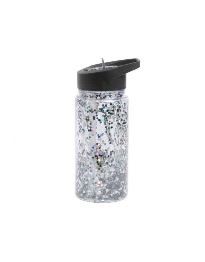 A Little Lovely Company Glitter Drink Bottle