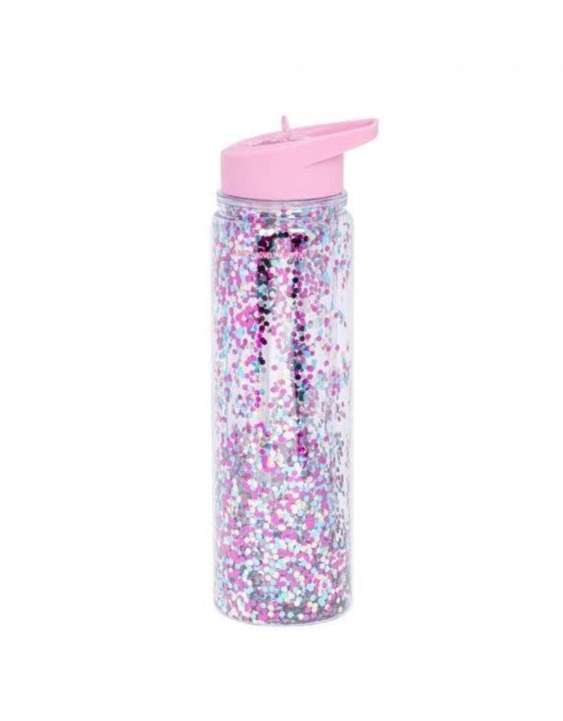 A Little Lovely Company XL Glitter Drink Bottle