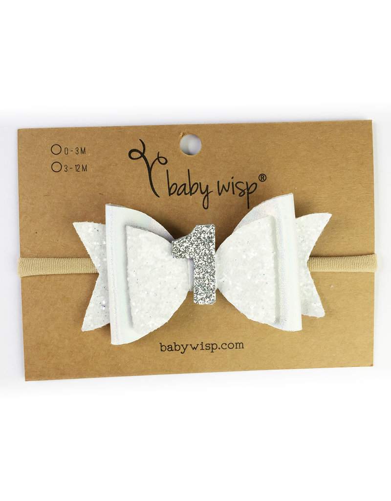 Baby Wisp First Birthday Headband