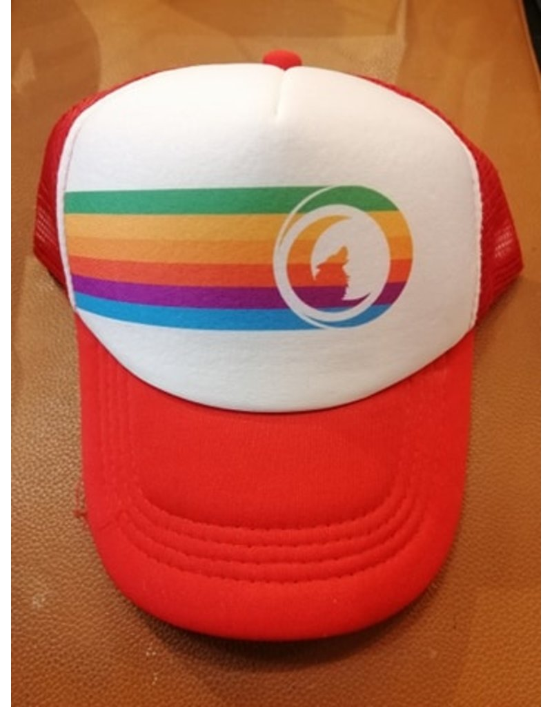 Circle Kids RAINBOW Trucker Hat