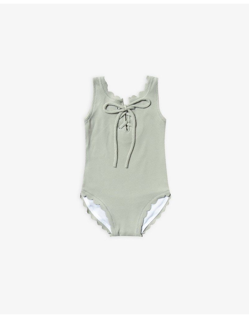 Rylee + Cru Laced Onepiece Swimsuit