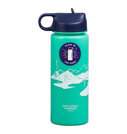Wild + Wolf Gentleman's Hardware Glow in the Dark Water Bottle
