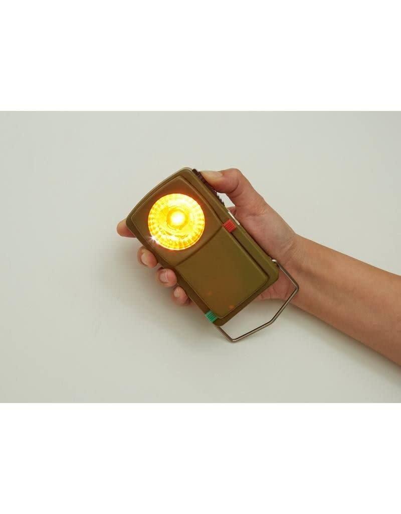 Kikkerland Designs Huckleberry Morse Code Light