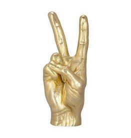 Kikkerland Designs Peace Sign Sculpture
